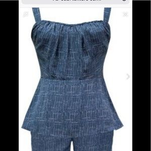 Cabi texture Cami.  Like New!  Size 12.  Worn once
